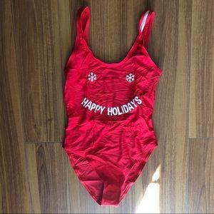 Happy Holidays Swimsuit
